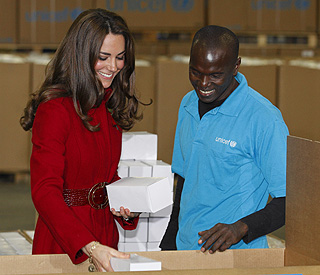 Duchess of Cambridge reveals plans to visit Kenya