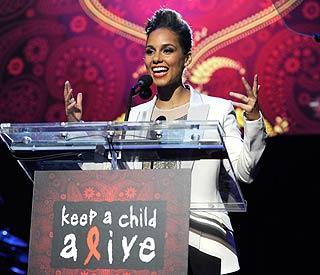 Big bids make Alicia Keys' Black Ball huge success