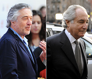 Robert de Niro to play disgraced financier Bernie Madoff