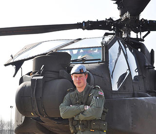 Prince Harry in final stages of Apache training
