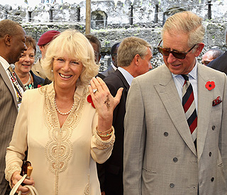 Duchess of Cornwall shows off African tattoo