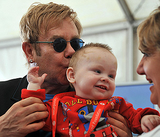 Sir Elton John launches anti-AIDS project