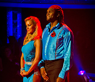 'Strictly': ex-boxer Audley Harrison out for the count