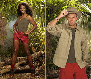 Sinitta and Pat Sharp jet into the celebrity jungle