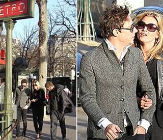Kate Moss and Jamie Hince reunited in Paris