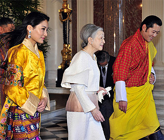 Bhutan's style icon Queen Jetsun Pema in Japan