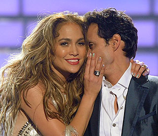 JLo and ex Marc film new talent show together