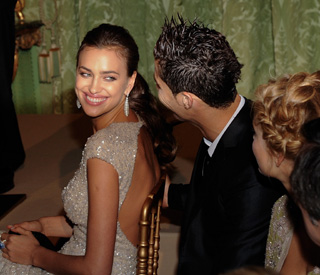 Cristiano Ronaldo and his girlfriend Irina so in love