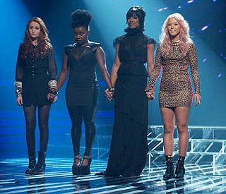 Kelly Rowland treats 'X Factor' girls to spa trip