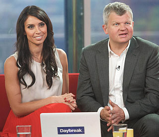 "Adrian Chiles ""angry"" at 'Daybreak' axe leak"