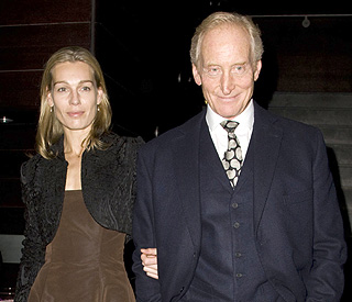 Charles Dance to become a dad aged 65