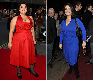 Ruth Jones fabulous following dramatic weight loss