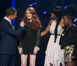 'X Factor': It's all over for Janet Delvin