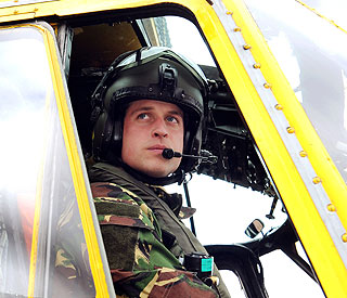 Prince William co-pilots sailor rescue mission