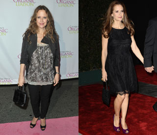 Kelly Preston looking great after shedding baby weight