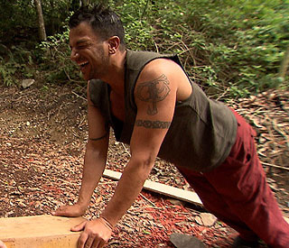 Peter Andre's jungle song challenge
