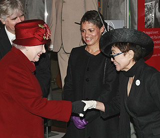 Yoko Ono: 'The Queen is always so elegant'