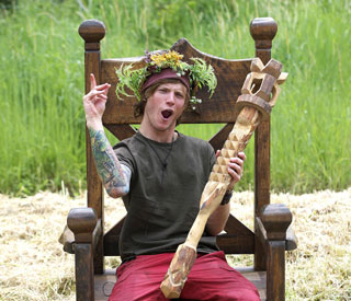 McFly's Dougie Poynter takes jungle throne