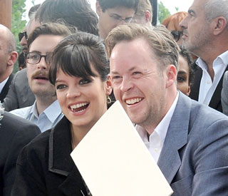 New mum Lily Allen thanks well-wishers for flowers