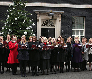 Military Wives are favourite for Christmas Number One