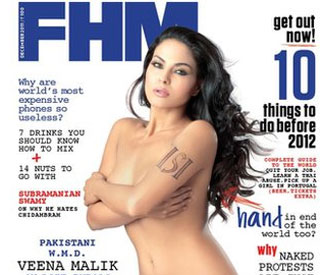 Veena Malik suing FHM over nude photos