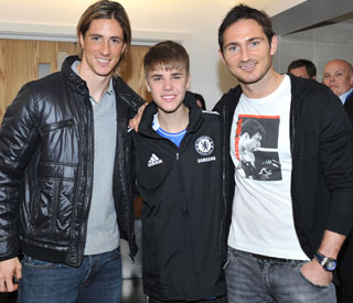 Justin Bieber joins Chelsea's dream team