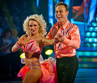 Jason Donovan steps up the pace for 'Strictly' final