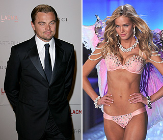 Leonardo DiCaprio dating Victoria's Secret model