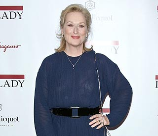 Meryl Streep ready for her London 'Iron Lady' premiere