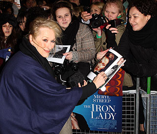 'Iron Lady' Meryl Streep reigns supreme at box office