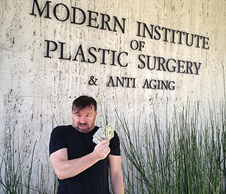 Ricky's visit to plastic surgery clinic ahead of Globes