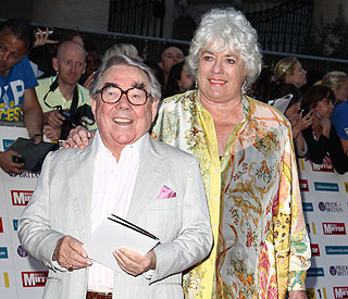 Ronnie Corbett taken ill at CBE celebration