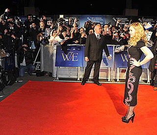 Madonna to attend 'W.E' premiere in Kensington