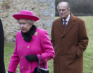 Prince Philip's first public engagement after heart scare