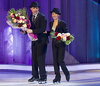 Mark Rhodes skates off 'Dancing on Ice'