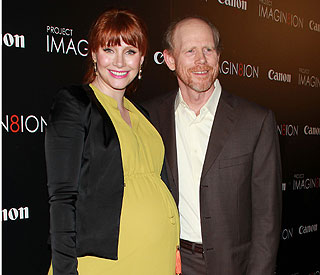 Baby joy for Bryce Dallas Howard