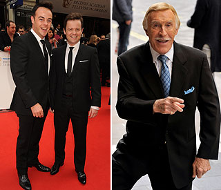 Ant, Dec and Brucie to open the NTA's with a bang