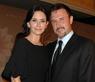 David Arquette and Courteney reunite for TV show