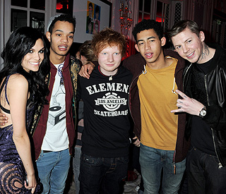 Jessie J and Ed Sheeran join Olympic line up