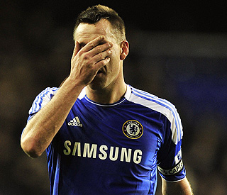 John Terry is stripped of England captaincy