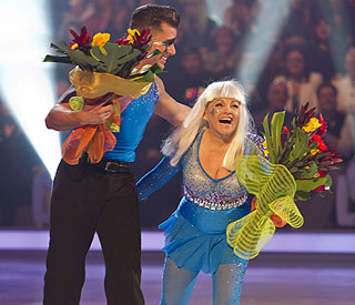Charlene Tilton skates off 'Dancing On Ice'