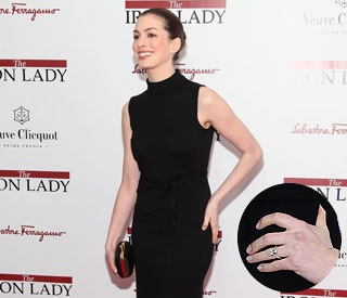 Celeb-free zone at Anne Hathaway's engagement party