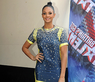 Alesha Dixon holds her own at BGT auditions