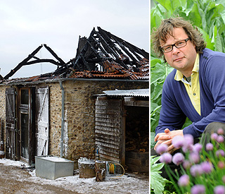 Fire breaks out at River Cottage