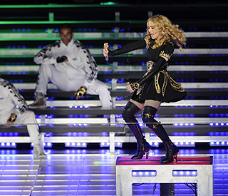 Madonna takes tour to London and Edinburgh