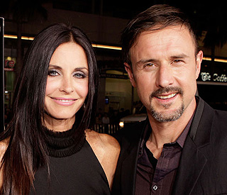 Courteney Cox 'hasn't had relationship since David'