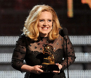 Adele after Grammy win: 'I've never been so happy'