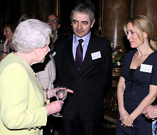 Gillian Anderson 'fascinated' to meet the Queen