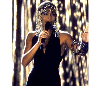 Dress worn by Whitney up for auction