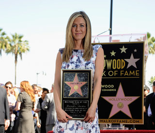 Jennifer Aniston gets 'surreal' Hollywood star
